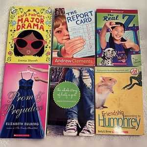Lot of 6 books. Young girls Pre-Teen American Girl
